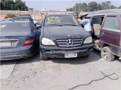 ننشر حصيلة بيع سيارات بجمارك مطار القاهرة