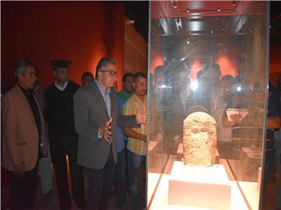 وزير الآثار يتفقد آخر مستجدات الأعمال بمتحف الغردقة قبيل افتتاحه