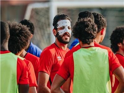 «الأهلي» يعلن موقف مروان محسن من مباراة الجونة