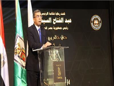 صور| ياسر رزق: قوة مصر الناعمة لا يمكن أن تتحطم
