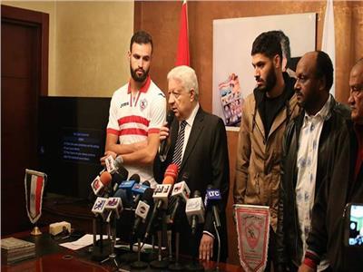 رسالة نارية من مرتضى منصور لحمدي النقاز
