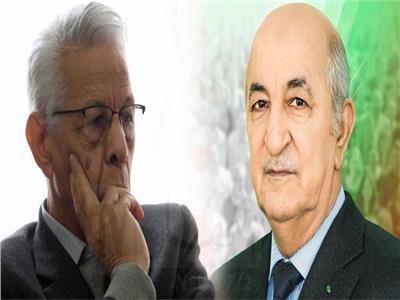الرئيس الجزائري يبحث تطورات الأوضاع السياسية مع رئيس الحكومة الأسبق مولود حمروش