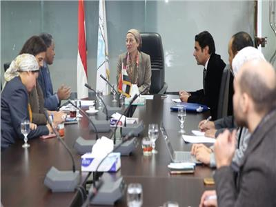 وزيرة البيئة تناقش مع المدير الإقليمي لبرنامج الأغذية مشروعات التكيف مع آثار التغيرات المناخية