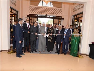 وزيرة التجارة تفتتح الجناح المصري بمعرض الخريف الدولي بالبحرين