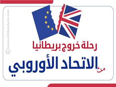 إنفوجراف  رحلة خروج بريطانيا من الاتحاد الأوروبي «تايم لاين»
