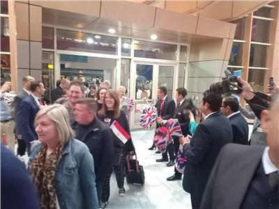 مطار شرم الشيخ يستقبل أولى رحلات شركة «TUI» القادمة من بريطانيا
