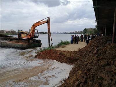 إزالة 40 حالة تعدٍ على النيل والأراضي الزراعية بالبحيرة
