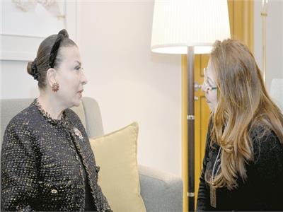 حوار| مؤسِسة «أبو ظبي للثقافة والفنون»: جئت إلى «أم الدنيا» أحمل تحية الإمارات قيادة وشعبًا