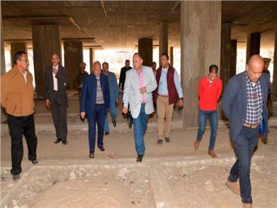محافظ أسيوط يتفقد أعمال إنشاء مستشفى منفلوط النموذجي الجديد