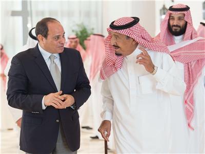 برقية عزاء من السيسي للملك سلمان في وفاة طلال بن عبدالعزيز
