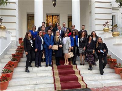 تفاصيل لقاء وزير الدولة للإعلام بـ«أبناء ماسبيرو»