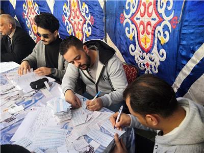 زيادة الإقبال في انتخابات التجديد النصفي للمهندسين في الغربية