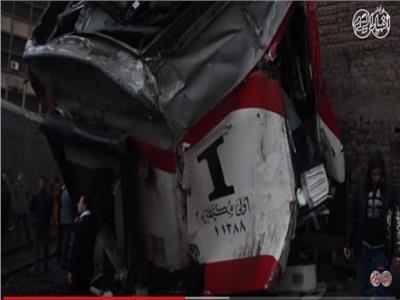 فيديو وصور| التفاصيل الكاملة لحادث تصادم قطاري روض الفرج وإمبابة