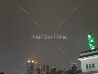 صور| سقوط أمطار على القاهرة والجيزة