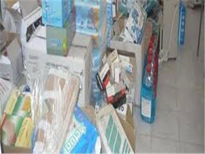 ضبط نحو 5572 مستلزمات طبية بأحد المحال التجارية لبيعها بأزيد من التسعيرة في الاسكندرية