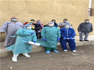 خروج ٢٠ حالة من العزل الصحي بالغربية بعد تعافيهم من كورونا