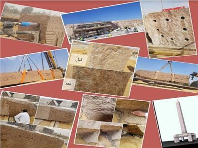 «العلم يصنع المعجزات» أول مسلة معلقة في العالم بالمتحف المصري الكبير