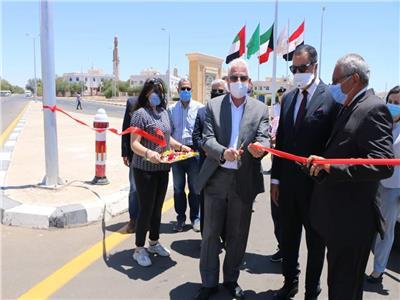 محافظ جنوب سيناء يفتتح طرق ومحاور رئيسية بشرم الشيخ