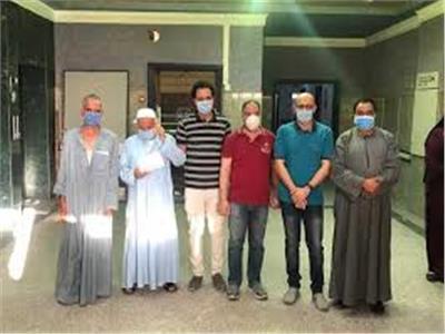 خروج 17 حالة جديدة تعافي من كورونا من مستشفى عزل العجمي