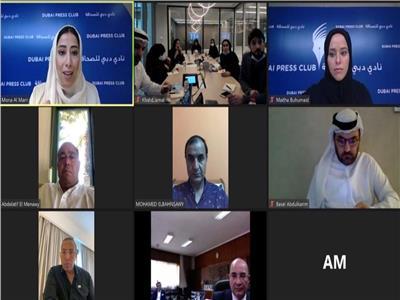 «دبي للصحافة» يبحث آفاق التعاون مع أبرز المؤسسات الصحافية المصرية لتعزيزالإعلام العربي