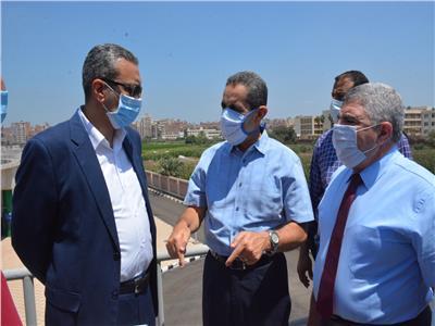 محافظ الغربية في جولة مفاجئة لمركز طنطا