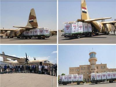 بتوجيهات الرئيس.. مصر تكثف الجسر الجوي لإرسال المساعدات العاجلة إلى لبنان