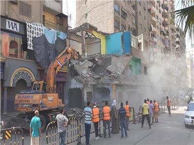 رفع 2000 حالة إشغال للمقاهي والمطاعم في الجيزة