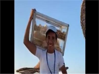 مفاجأة من منتدى شباب العالم لـ«طالب الفريسكا» بالإسكندرية
