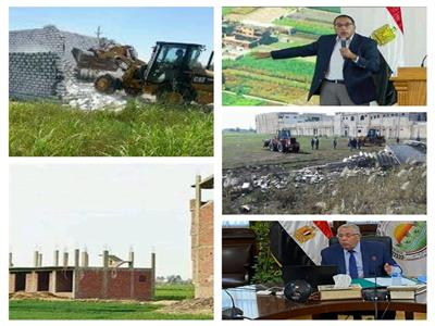 مواجهة التعديات على الأراضي الزراعية ينقذ الأمن الغذائي المصري