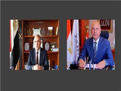 وزيرا النقل والرييبحثان دفع المشروعات المشتركة لسرعة إنجازها