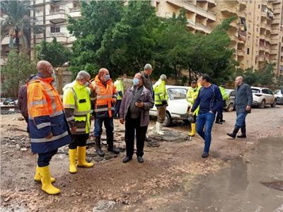 القابضة لمياه الشرب: انتشار 470 معدة وسيارة كسح  للتعامل مع الأمطار