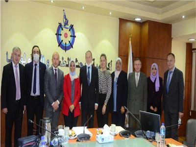 وفد من بيلاروسيا يزور أكاديمية البحث العلمي والتكنولوجيا
