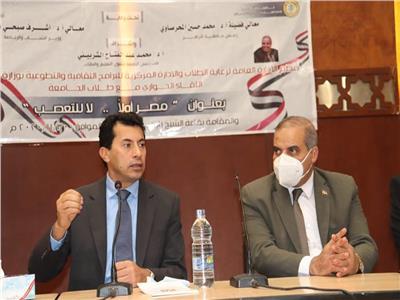 رئيس جامعة الأزهر: التعصب والشائعات يهدفان إلى هدم الأوطان