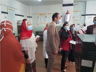 صحة المنوفية:لجنة على «الحميات» لمتابعة توافر الأدويةوأسطوانات الأكسجين