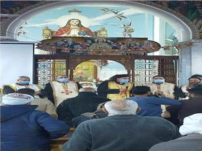 كنيسة ملكة السلام بالفكرية تستقبل رفات القديسة تريزا