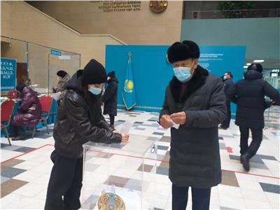 بدءالانتخابات التشريعيةفي كازاخستان