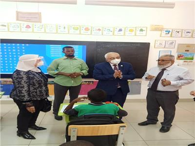 بعد زيارة استغرقت 3 أيام.. وفد «التعليم» يعود من جيبوتي للقاهرة