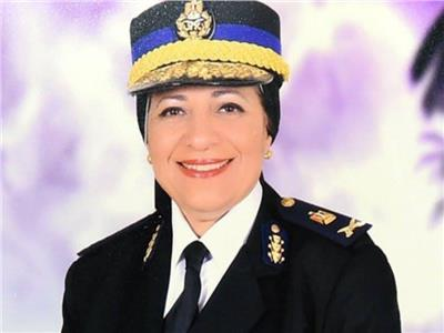 سر وراء الانضباط التام| أول سيدة تحصل على رتبة لواء بوزارة الداخلية