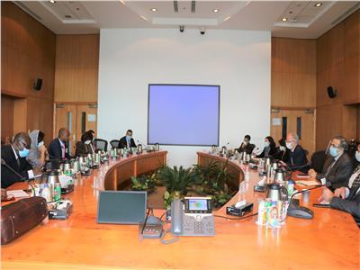 رئيس «ايتيدا» يلتقي سكرتير منطقة التجارة الحرة القارية الأفريقية