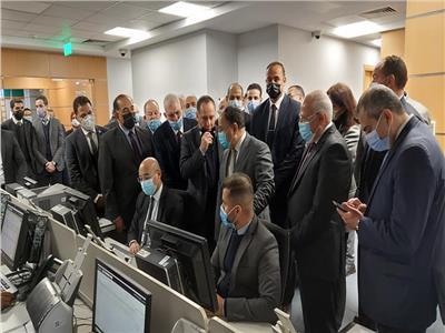وزير المالية ومحافظ بورسعيد يتفقدان المركز اللوجستي بميناء بورسعيد