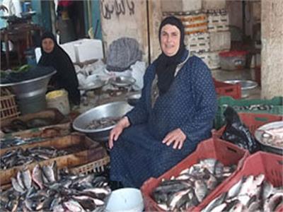أسعار الأسماك في سوق العبور اليوم 26 يناير
