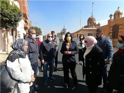 نائب وزير السياحة تتفقد خدمات «مسار العائلة المقدسة»  صور