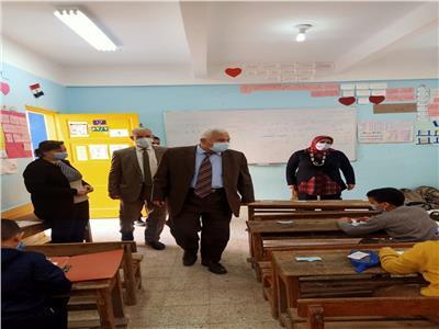 انتظام سير الامتحانات بمدارس الإسكندرية دون شكاوى| صور