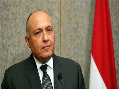شكري: هناك ترحيب مصري باقتراح السودان لاستكمال المفاوضات للتوصل إلي اتفاق