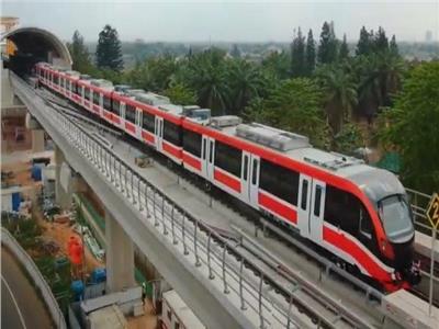 التشغيل التجريبي في أغسطس المقبل.. 10 معلومات عن القطار الكهربائي LRT