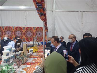 افتتاح معرض «أهلا رمضان» بـ«أرض كوتة» فى الإسكندرية