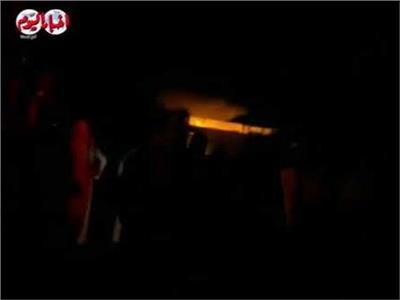 إصابة ٦ أشخاص في حريق الشركة المصرية الإسبانية للصناعات الغذائيةبالنوبارية