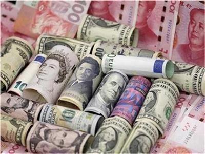 تباين أسعار العملات الأجنبية في البنوك.. واليورو يسجل 18.56 جنيه