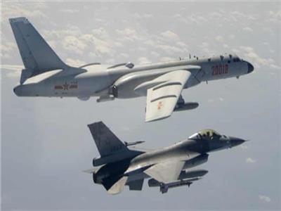 الصين تخترق منطقة الدفاع الجوي في تيوان بـ25 طائرة عسكرية