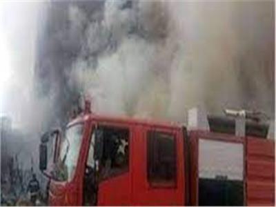 انتداب المعمل الجنائي لمعاينة حريق محل تجاري في رمسيس